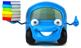 Fun car - 3D Illustration Stock Image