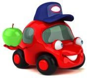 Fun car - 3D Illustration Royalty Free Stock Images