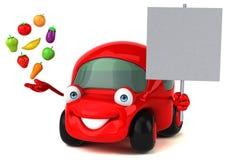 Fun car - 3D Illustration Stock Photo