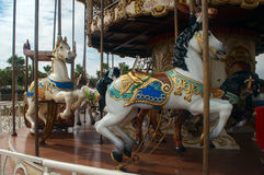 Fun carousel Royalty Free Stock Image
