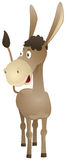 Fun cartoon donkey Stock Photo