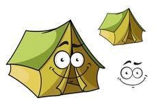 Fun cartoon tent Royalty Free Stock Photo