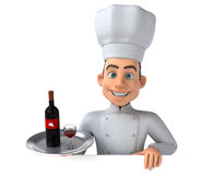 Fun chef Stock Photography