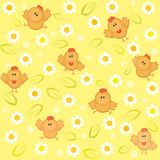 Fun chick background Royalty Free Stock Photos
