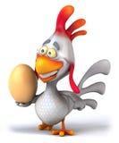 Fun chicken Stock Photography