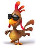 Fun chicken Royalty Free Stock Image