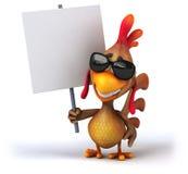 Fun chicken Stock Photos