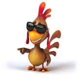 Fun chicken Royalty Free Stock Photos