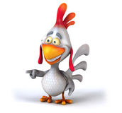 Fun chicken Royalty Free Stock Images