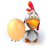 Fun chicken Stock Images