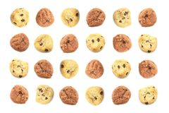 Fun Children Themed Cookie Background Stock Photography