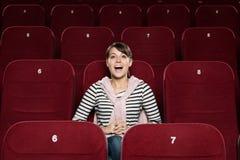 Fun at the cinema Stock Photos