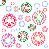 Fun circles. Fun colorful composition with circles Royalty Free Stock Photography