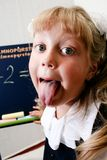 Fun in classroom Royalty Free Stock Photos
