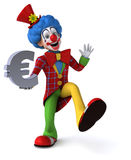 Fun clown Stock Images