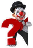 Fun clown Royalty Free Stock Image