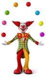 Fun clown Stock Photos