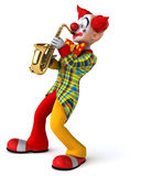 Fun clown Royalty Free Stock Image