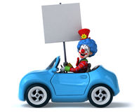 Fun clown Royalty Free Stock Photography