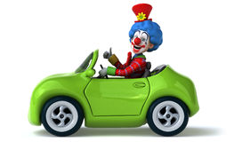 Fun clown Royalty Free Stock Photo