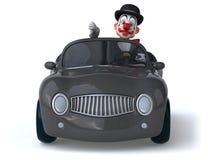 Fun clown Royalty Free Stock Photography