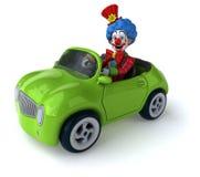 Fun clown Stock Image