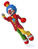 Fun clown Royalty Free Stock Photos