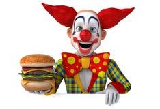 Fun clown Royalty Free Stock Photos