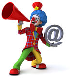 Fun clown Royalty Free Stock Images