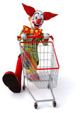 Fun clown Stock Image