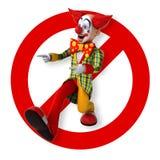 Fun clown Stock Photography
