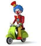 Fun clown Stock Images
