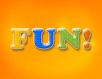 Fun Colorful Letters Concept Royalty Free Stock Photo