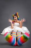 Fun colors royalty free stock photography