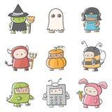 Fun Costumes. Illustrations of various fun costumes