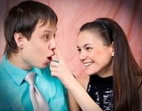 Fun couple Royalty Free Stock Photography