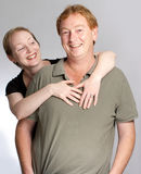Fun couple Stock Photography