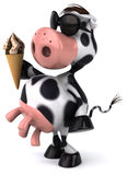 Fun cow Royalty Free Stock Photo