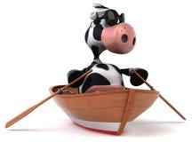 Fun cow Stock Photo