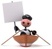 Fun cow Royalty Free Stock Photo