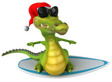 Fun crocodile Stock Image