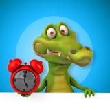Fun crocodile Royalty Free Stock Images