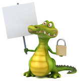Fun crocodile Stock Photography