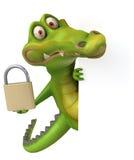 Fun crocodile Stock Photos