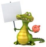 Fun crocodile Royalty Free Stock Photography