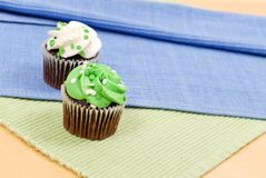 Fun Cupcakes Royalty Free Stock Photo