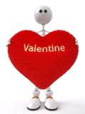 Fun 3d Valentine Stock Photos