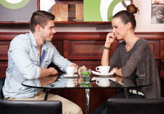 Fun dating. Royalty Free Stock Photo