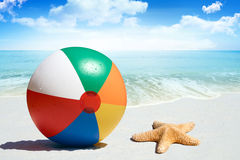 Fun day at the beach Royalty Free Stock Photo