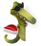 Fun dinosaur Royalty Free Stock Images